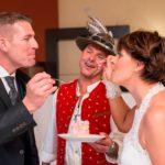 Hochzeitsband Partyband Kuchen anschneiden