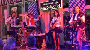 bayrische band partyband